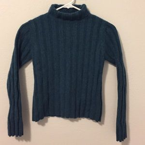 Autumn Cashmere Sweaters - Turquoise Autumn Cashmere Sweater