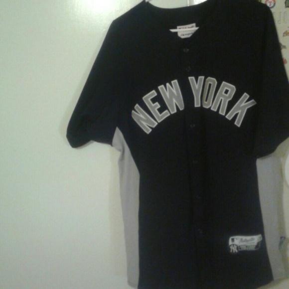 meet 2c80b 02003 New York Yankees Spring Training Majestic Jersey.