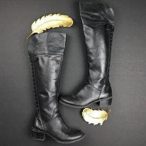 Vince Camuto Shoes - Vince Camuto Bollo Over the Knee Leather Boots