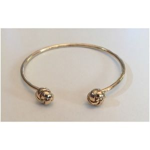 Charming Charlie Jewelry - CHARMING CHARLIE Gold Knot Bangle Bracelet. NWOT