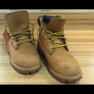 "Timberland Other - Men Timberland 6"" Boots Premium Wheat Waterproof"