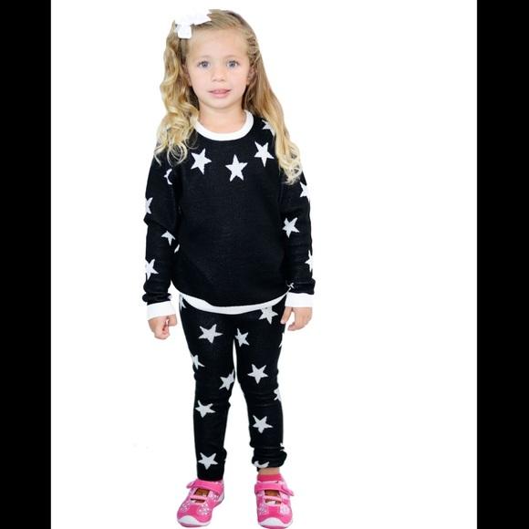 Arugto Matching Sets Girls 2 Piece Sweater Pant Set Size 6nwt