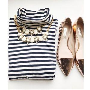 Striped Blue Top🎀