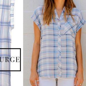 Rails Tops - Plaid Button Down Shirt