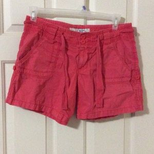 LFL Pants - Salmon Roll-Up Shorts