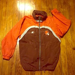 Vintage Other - Final Price! Vintage Cleveland NFL Starter Jacket