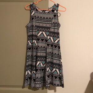 Mudd Dresses & Skirts - Tribal Designed Skater Dress