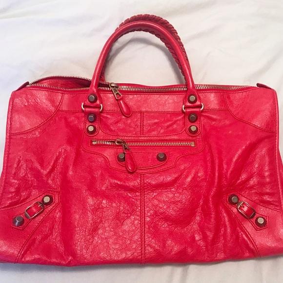 1541dd7fdd1 Balenciaga Bags | Weekender Giant Rose Gold | Poshmark