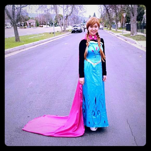 Adult Women Princess Frozen Elsa Coronation Dress  sc 1 st  Poshmark & Dresses | Adult Women Princess Frozen Elsa Coronation Dress | Poshmark