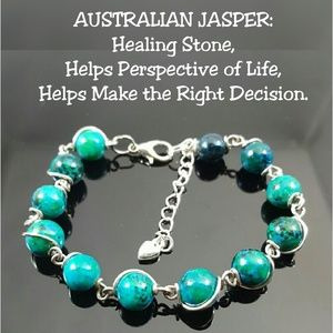 DGwiring Jewelry - Australian Jasper: Heals, Life Stability, Decision