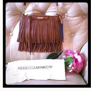 Rebecca Minkoff Handbags - 💜NWT Rebecca Minkoff Finn Crossbody in Almond