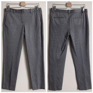 Theory Pants - NWT theory testra knit crop pants black / white