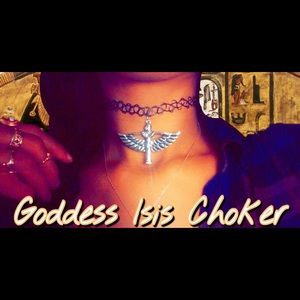 Isis goddess Choker