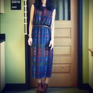 Anthropologie HD in Paris Plaid Dress Size 2