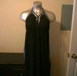 Dresses & Skirts - PBF Shimmery Black Sheer Jumpsuit