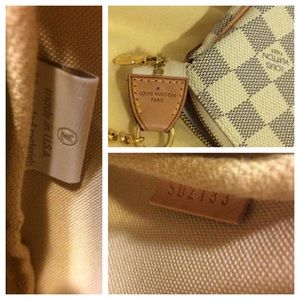 Louis Vuitton Bags - Louis Vuitton Eva clutch damier azur