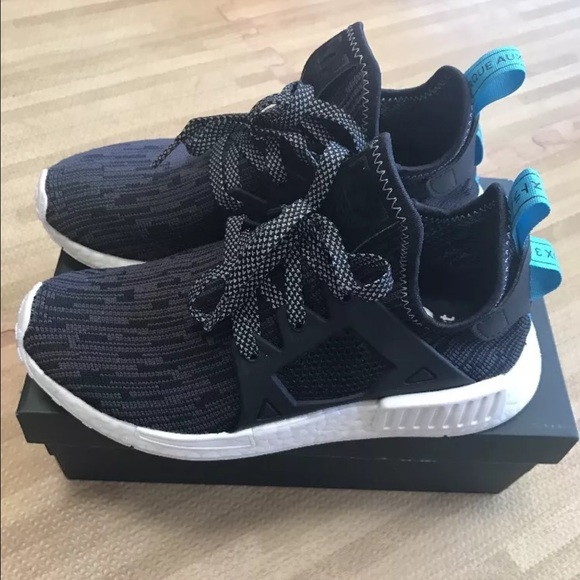 adidas NMD XR1 Blue Camo Kicks On Fire
