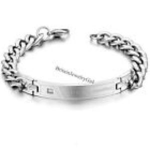 NEW! STAINLESS STEEL CUBAN CURB CHAIN BRACELET