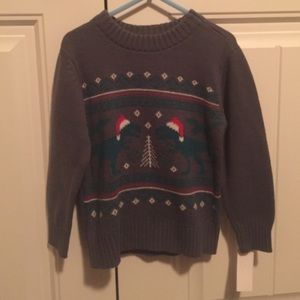 Sears Other - Toddler boy: holiday dinosaur sweatshirt