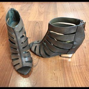 BCBG strapped heel sandals
