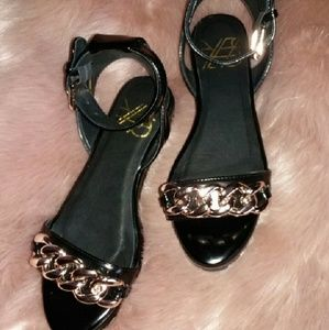 YES Shoes - YES Daisy sandal black