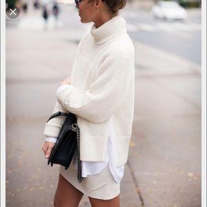 Sweaters - Chunky Knit Turtleneck Warm Sweater 🦋