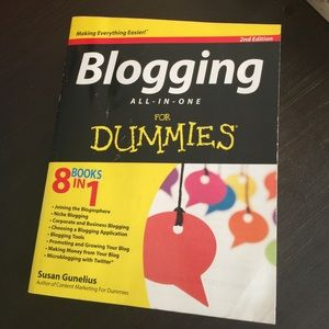 """Blogging for Dummies"""