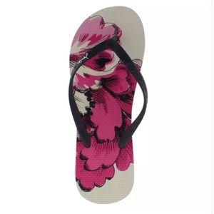 Joules Shoes - 🆕JOULES SANDY BLACK IVORY FLIP FLOPS SZ 10M