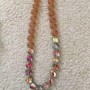 Gorgeous handmade beaded necklace.