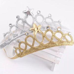 Other - Baby Girls Princess Tiara Crown Headbands