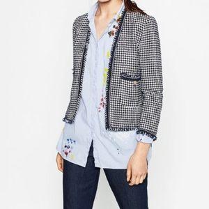 Zara Jackets & Blazers - ⭐️Zara Tweed jacket