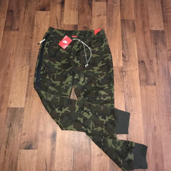 6fcaa6c597253 Nike Pants | New Tech Fleece Camo Joggers Jogger | Poshmark