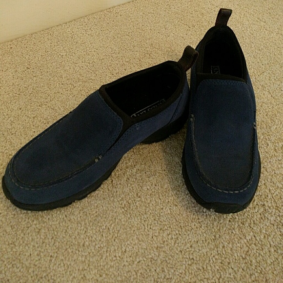 73 lands end shoes lands end pull on shoes suede