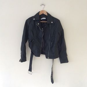 The Collective Black Motto Jacket