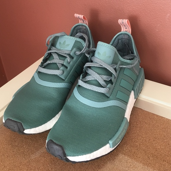 Adidas Shoes - Adidas women s NMD teal   pink sneakers 45e1573472