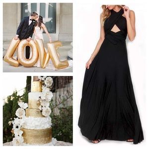 c89224c64328a Women s Convertible Wrap Maxi Dress. Boutique