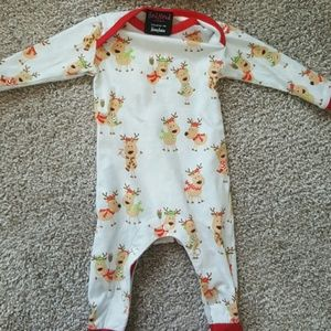 Neiman Marcus Other - Neiman Marcus Baby Christmas PJ and Hat