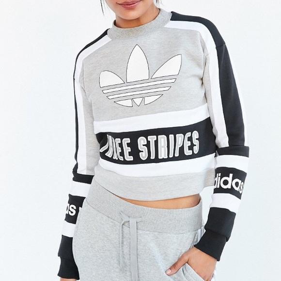 Adidas Sweaters Original 80s Moto Pullover Sweatshirt Poshmark
