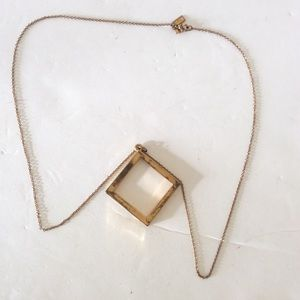 Kate Spade square necklace
