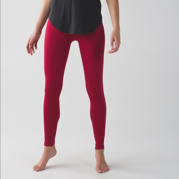 080751e7dd Cranberry red wunder under long pant/ leggings. M_5873bf7e5c12f8c6f5009131.  Other Pants you may like. Lulu lemon mesh pants