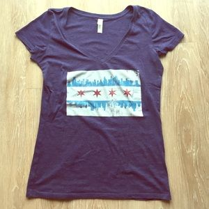 Threads 4 Thought Tops - Chicago skyline t-shirt!