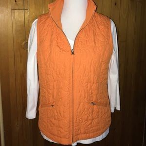 Chicos Zynergy Sz 1, Lightweight quilted vest
