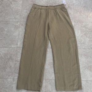 Coldwater Creek Pants - 🆕 Coldwater Creek Silk Linen Pants L