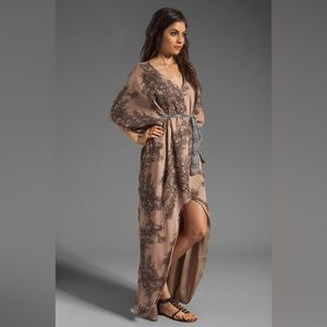 "Winter Kate Dresses & Skirts - Winter Kate Silk ""Trinity"" Dress Caftan Kimono"
