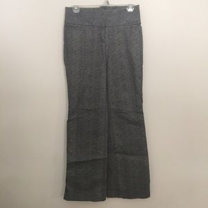 Express Wide Leg Gray Trousers