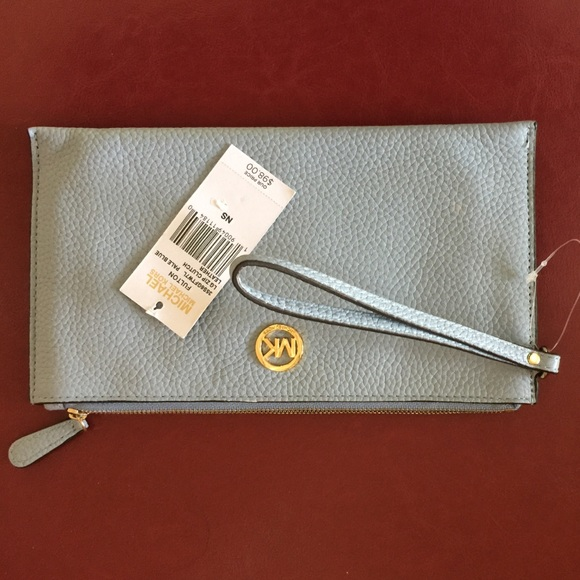 26c923a8ff1f9a MICHAEL Michael Kors Bags   Michael Kors Fulton Large Zip Clutch ...