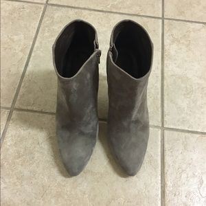 J. Crew Metropolitan Suede Ankle Boots size 7