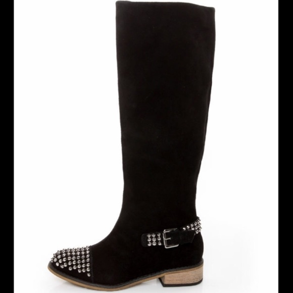 98491a5b68727 Kelsi Dagger Shoes - Kelsi Dagger Studded Rover Boots