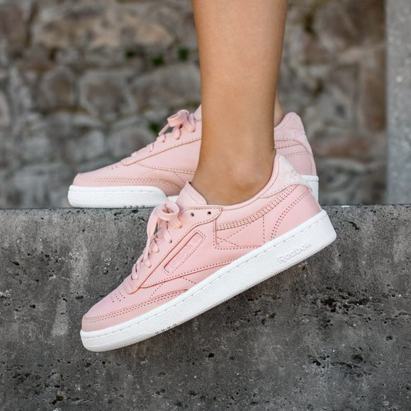 6311b1604192e3 Reebok Blush Pink Club C. M 5873d68c522b4559f412026d. Other Shoes ...