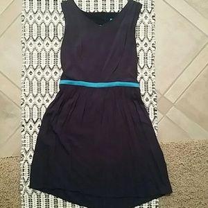 Navy Cutout mini dress